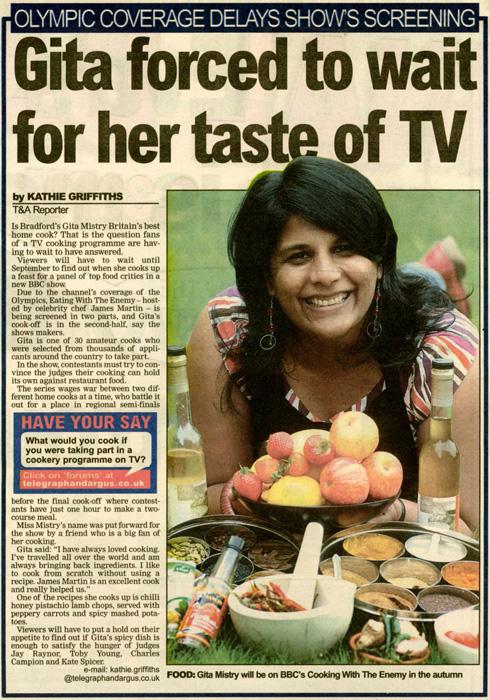Telegraph & Argus - 26 July 08