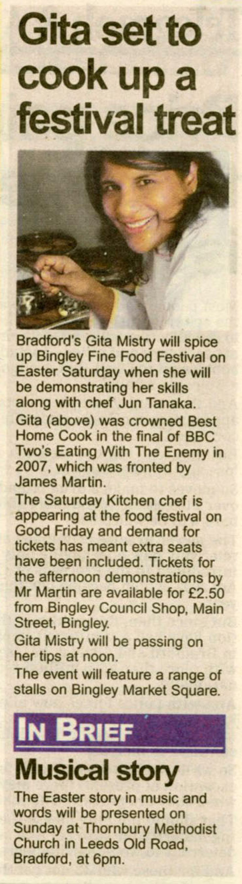 Telegraph & Argus - 2 April 09