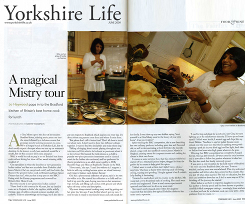 Yorkshire Life - 02 June 09